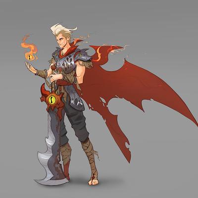 Andrew soman flame battlemage
