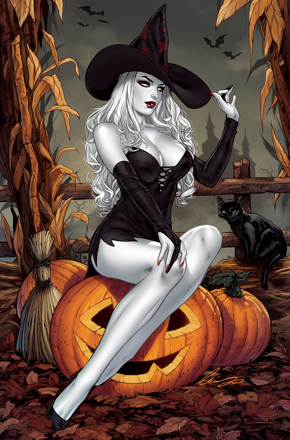 Lady Death Halloween
