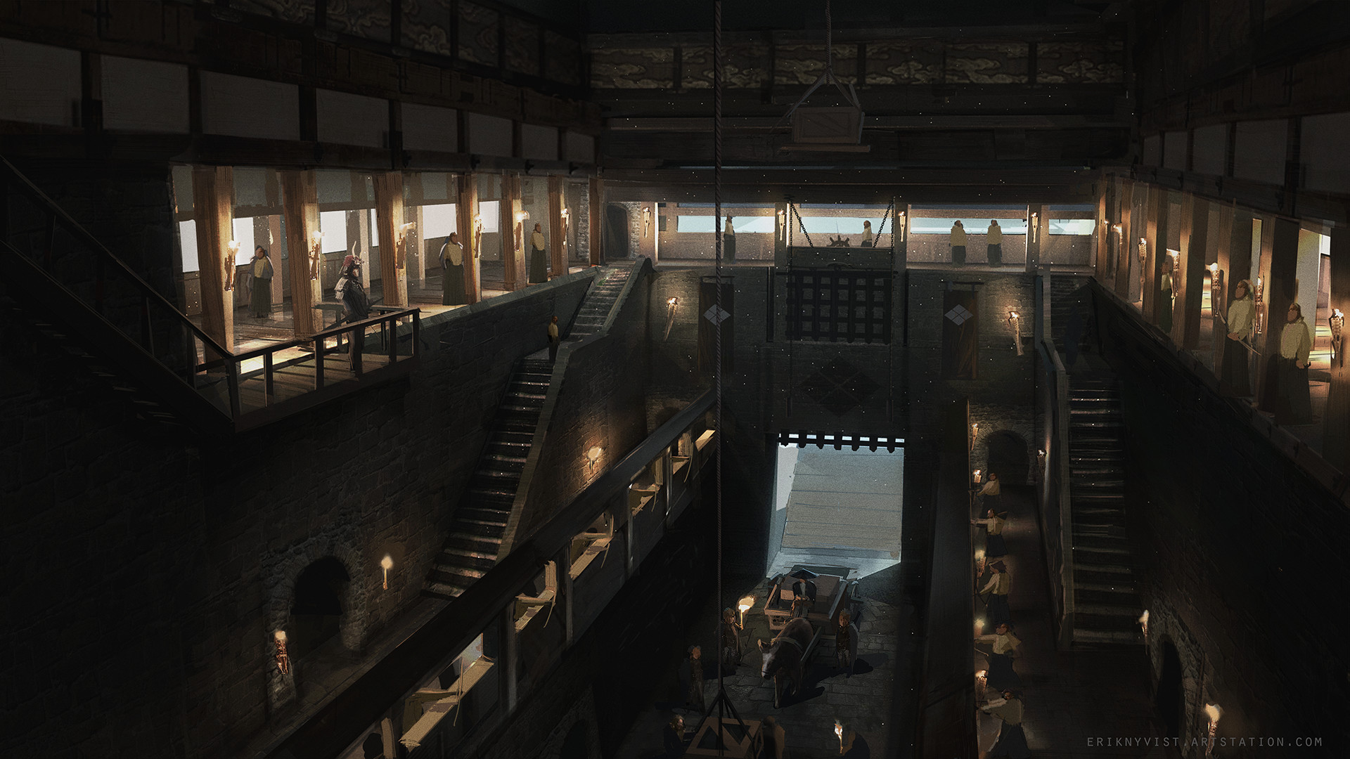 Erik nykvist castle interior 01