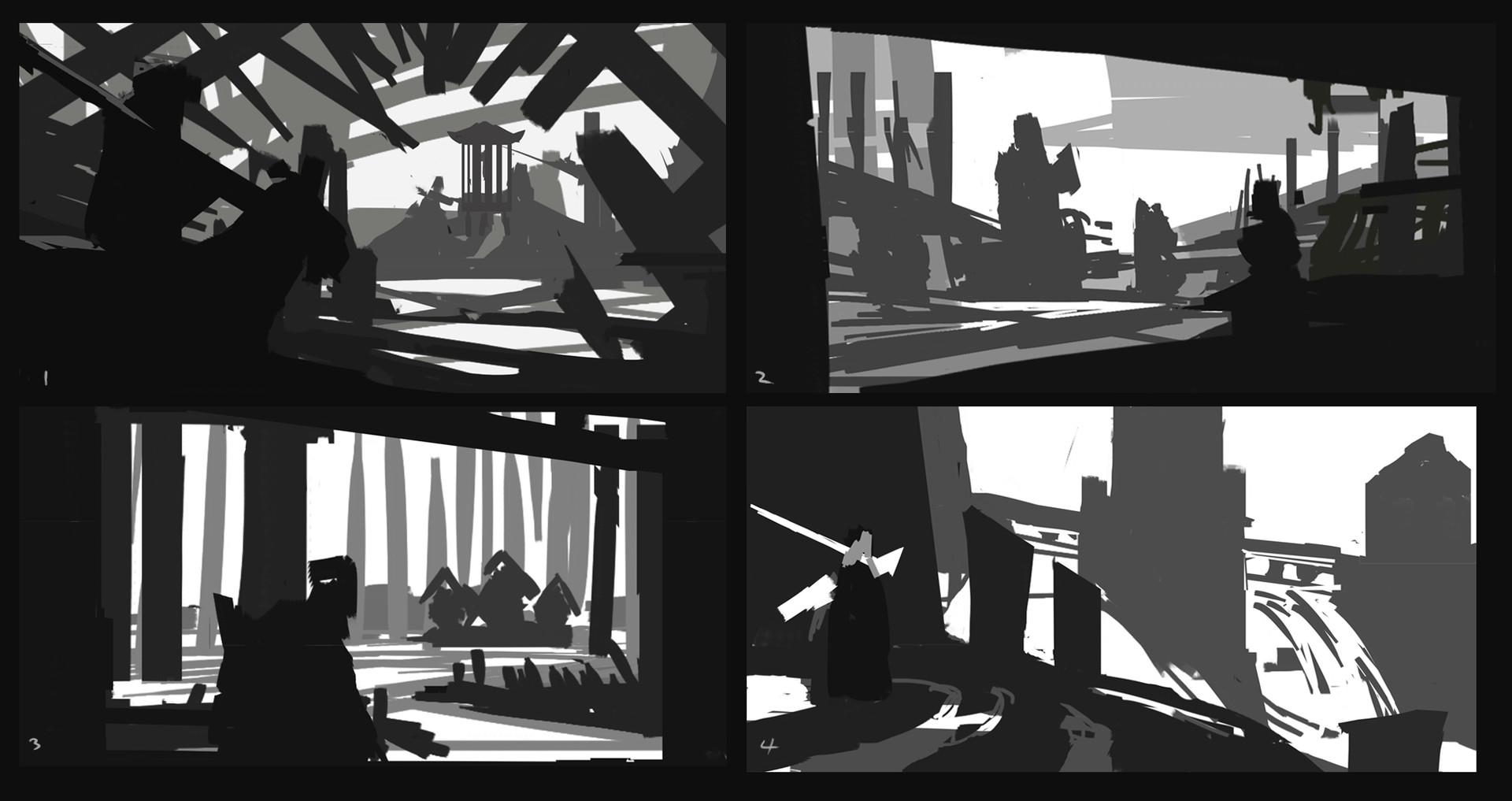 Erik nykvist abstract compositions