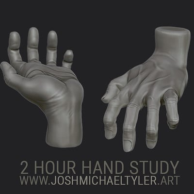 Josh tyler handstudyrender