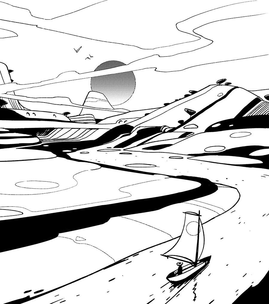 Lorenz hideyoshi ruwwe landscape