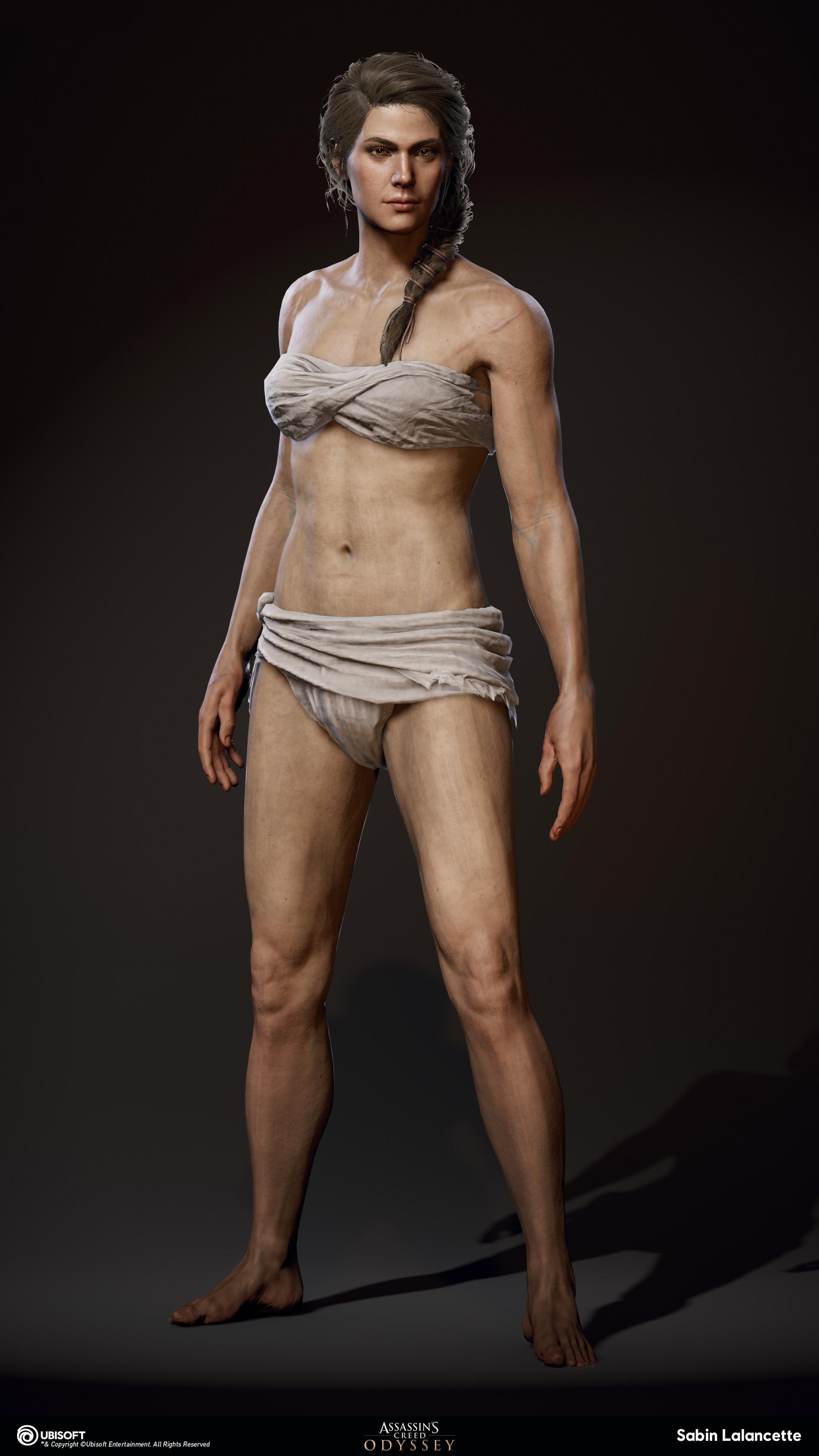 Sabin lalancette artblast fullsize body front kassandra slalancette