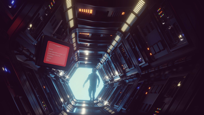 Sci fi Corridor 01