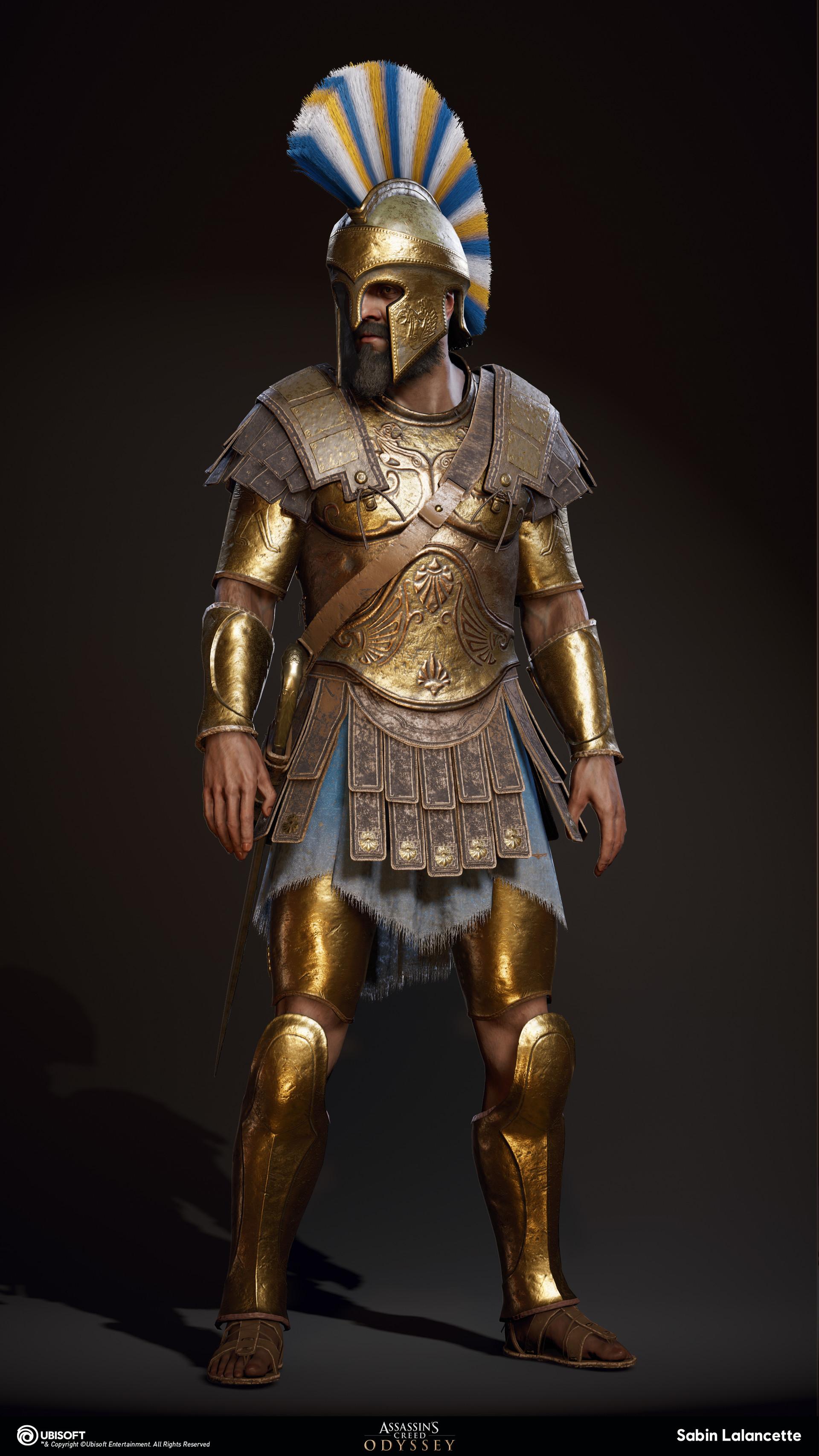 Sabin lalancette artblast fullsize athenian heavy soldierb front slalancette