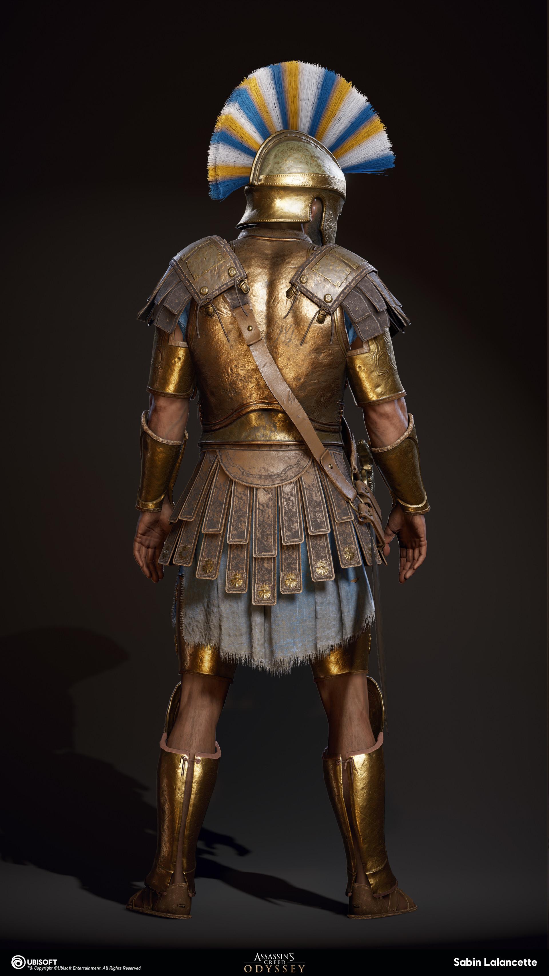 Sabin lalancette artblast fullsize athenian heavy soldierb back slalancette