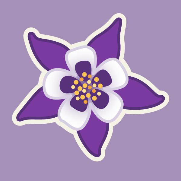 Clemence sanches violet