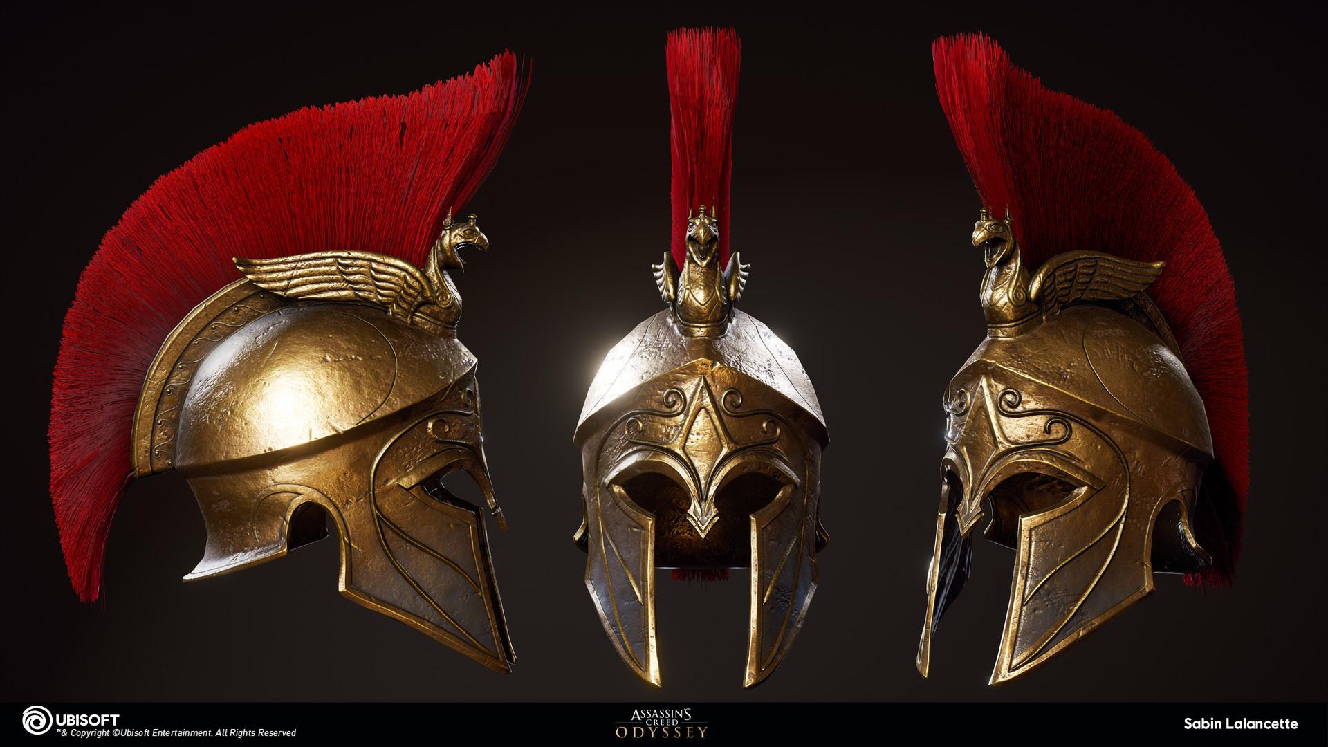 Sabin lalancette artblast fullsize mercenary helmet slalancette