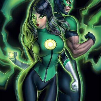 Warren louw green lanterns 49 variant da