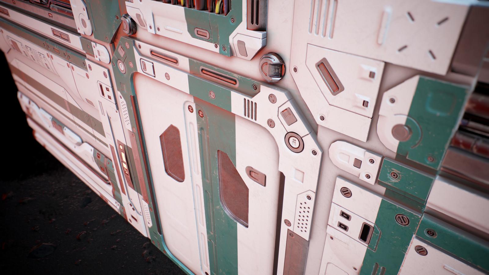 Door Close up