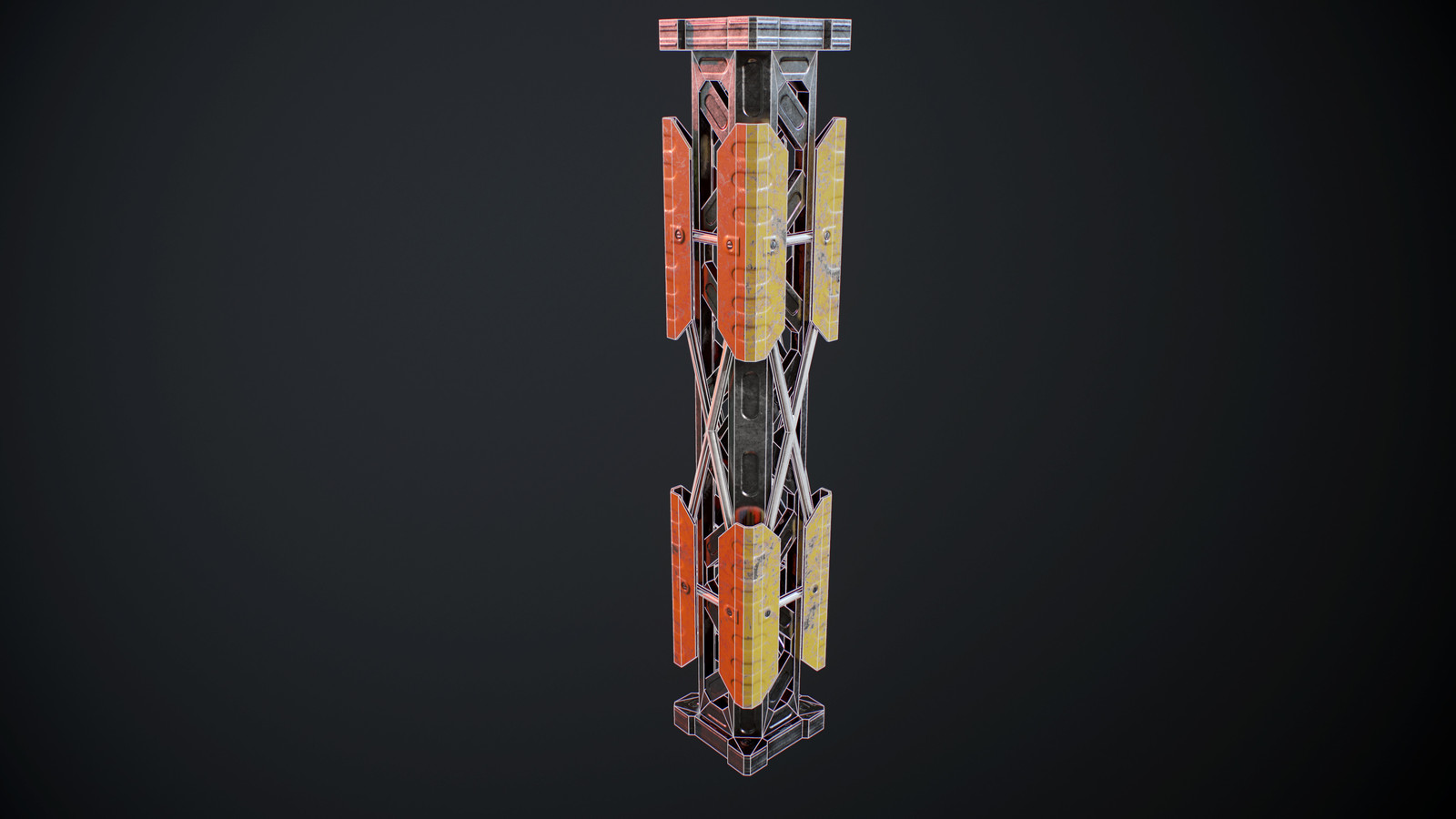 Pillar wireframe