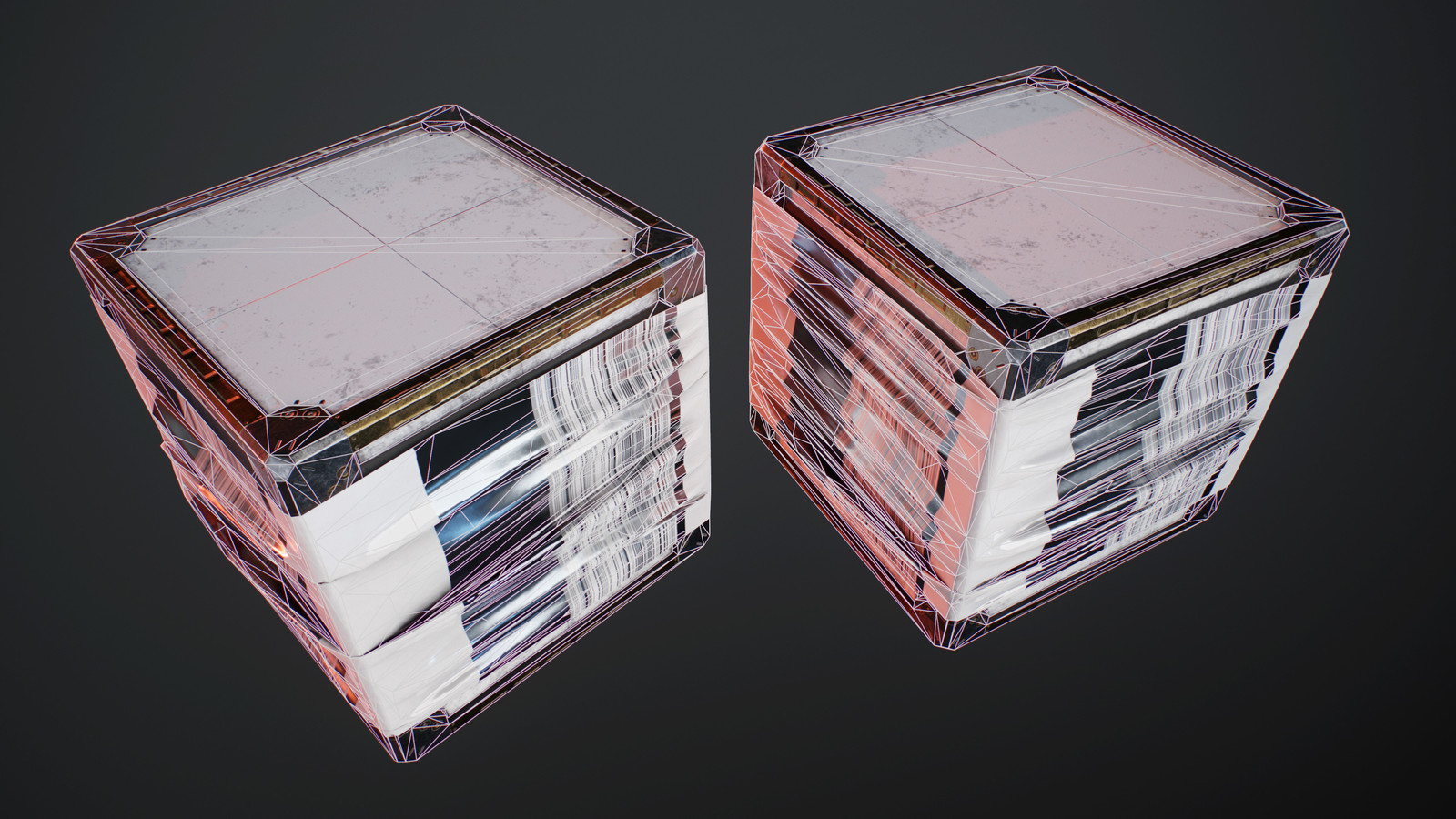 Crate wireframe
