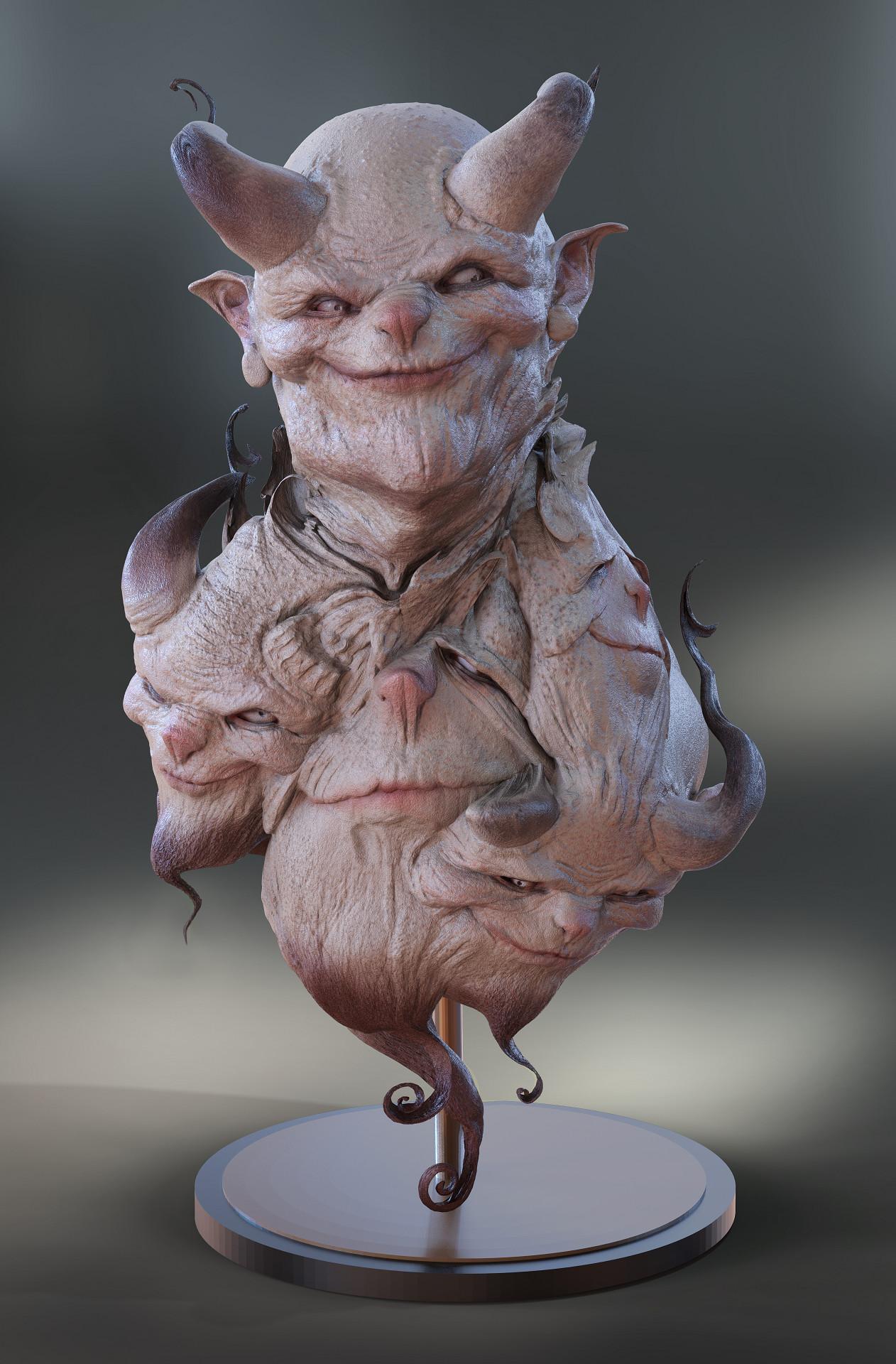 Gilberto soren zaragoza busto personal demonio low