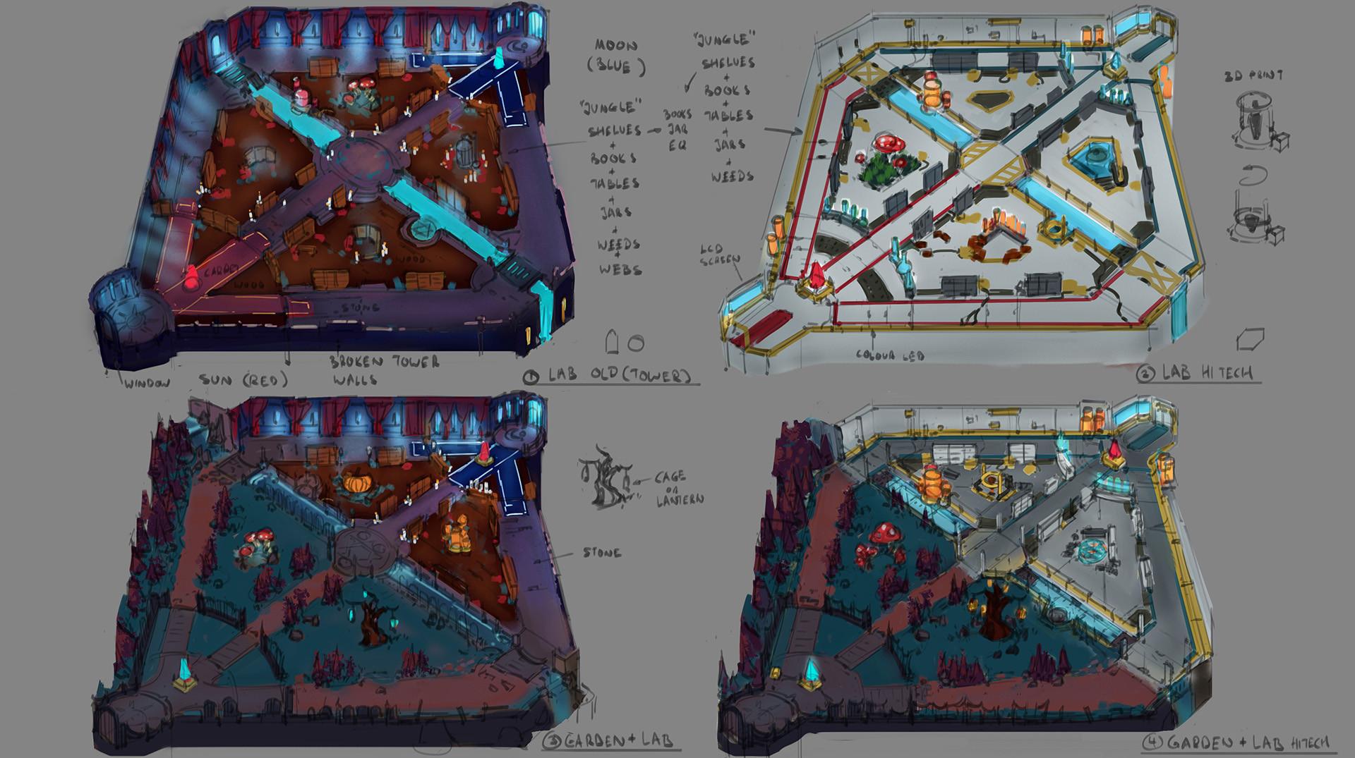 Dominic chan igg env arena01 sketch01 colour 20180920