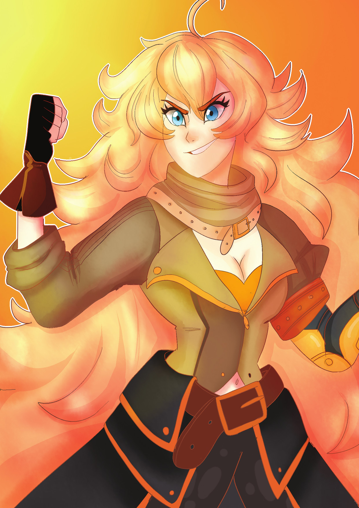 Dommy Downs Fan Art Yang Xiao Long