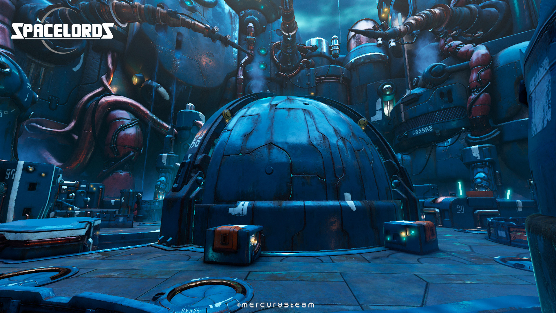 """First phase of gameplay, where """"Nimrod's Dome"""" exterior is closed - White Noise mission"""