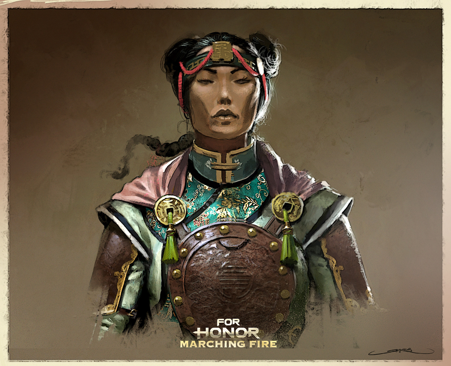 Remko troost chinese assassin set3 portrait