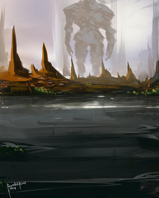 Benedick bana land of the titan lores