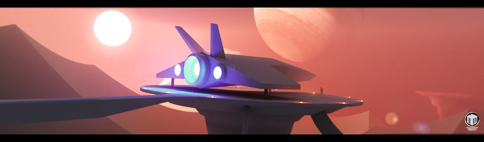 Scifi Excersice 002 - Landing Port
