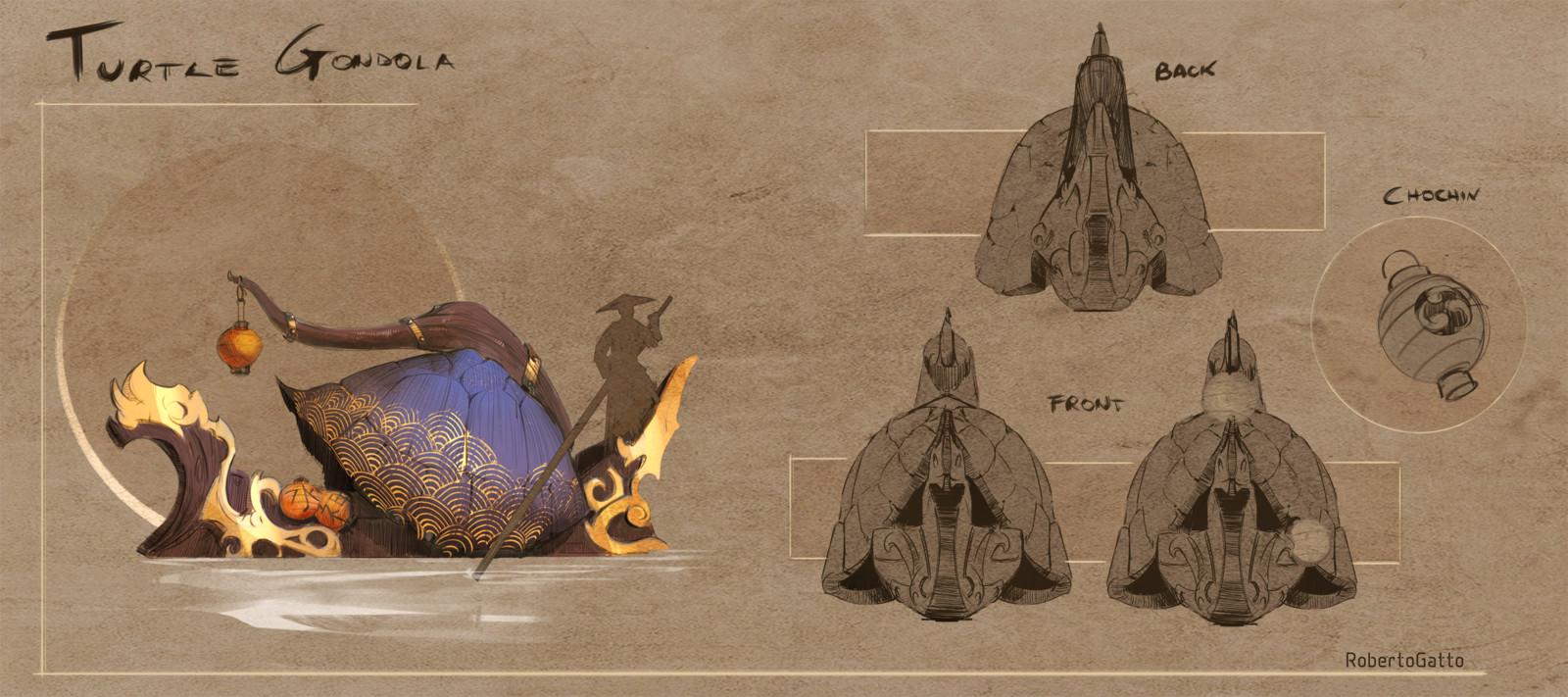 Artstation Challenge- The shogunate - prop designs
