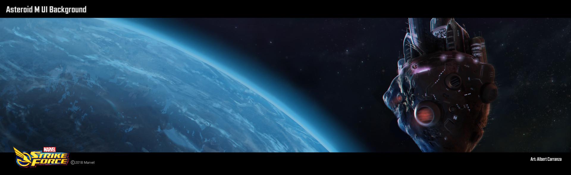 Albert carranza ui homebackground asteroidm exp2 1mockup