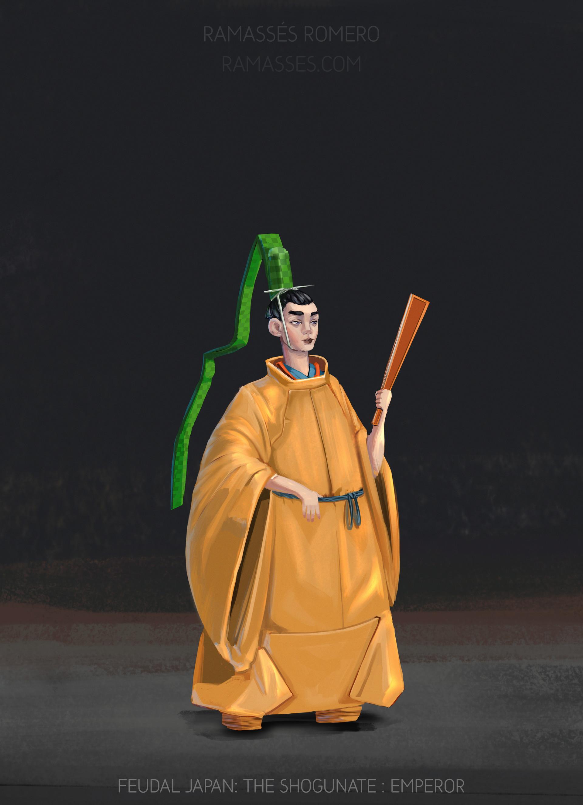 Ramasses romero shogunateexport emperor