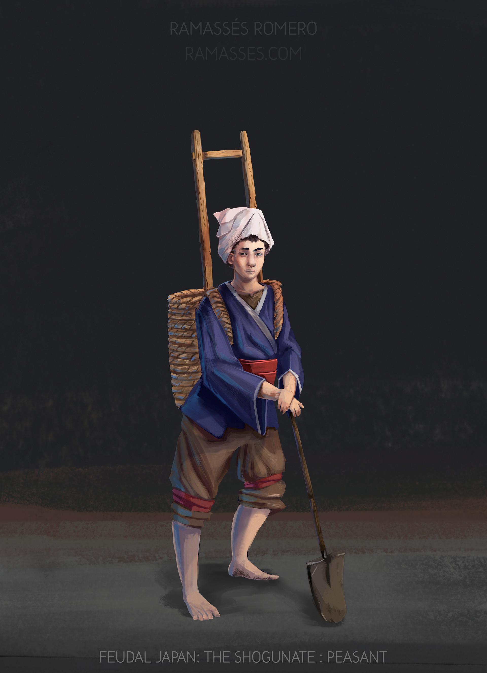 Ramasses romero shogunateexport peasant
