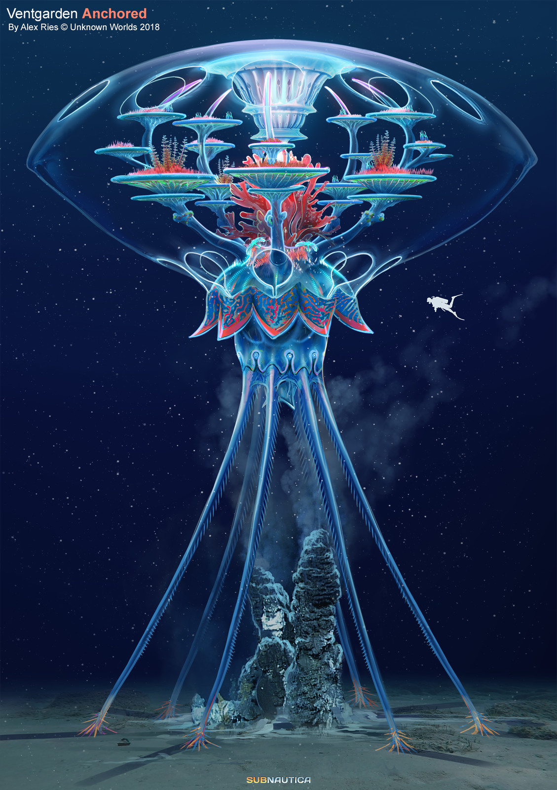 Anchored over an energy source: a deep sea vent