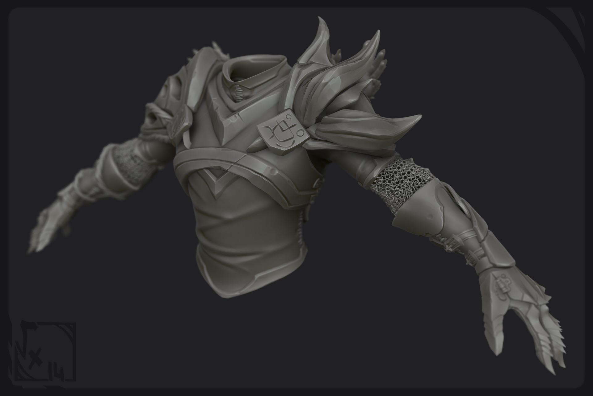 Etienne beschet prp armor sculpt 01