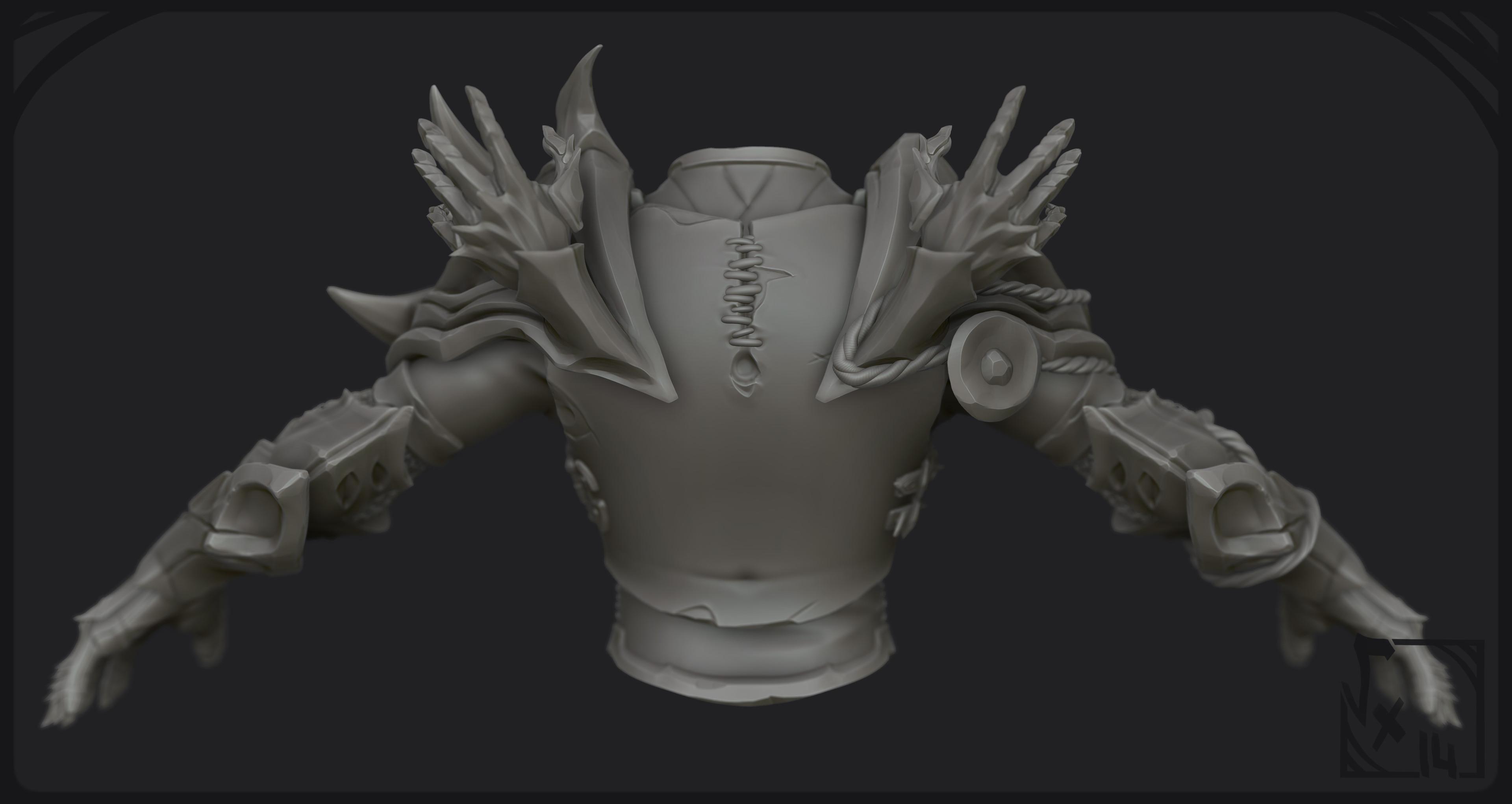 Sculpt BPR 03 - BackView
