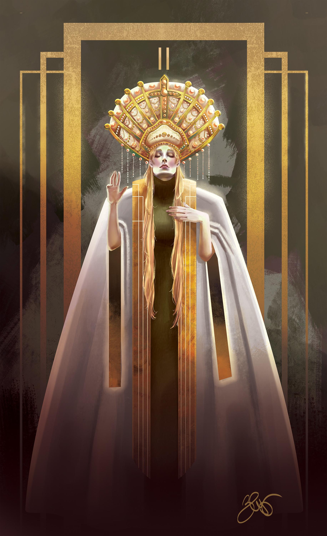 Elisa cella elisa cella high priestess