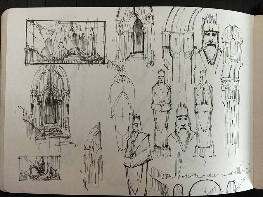 Research sketches
