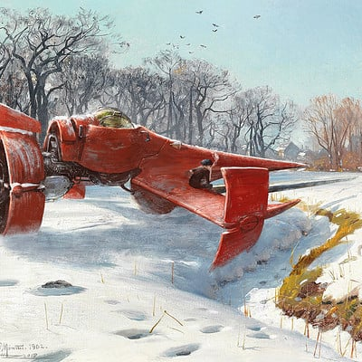 Oliver wetter wallpaper swordfish ii on a sunny wintermorning after monsted final