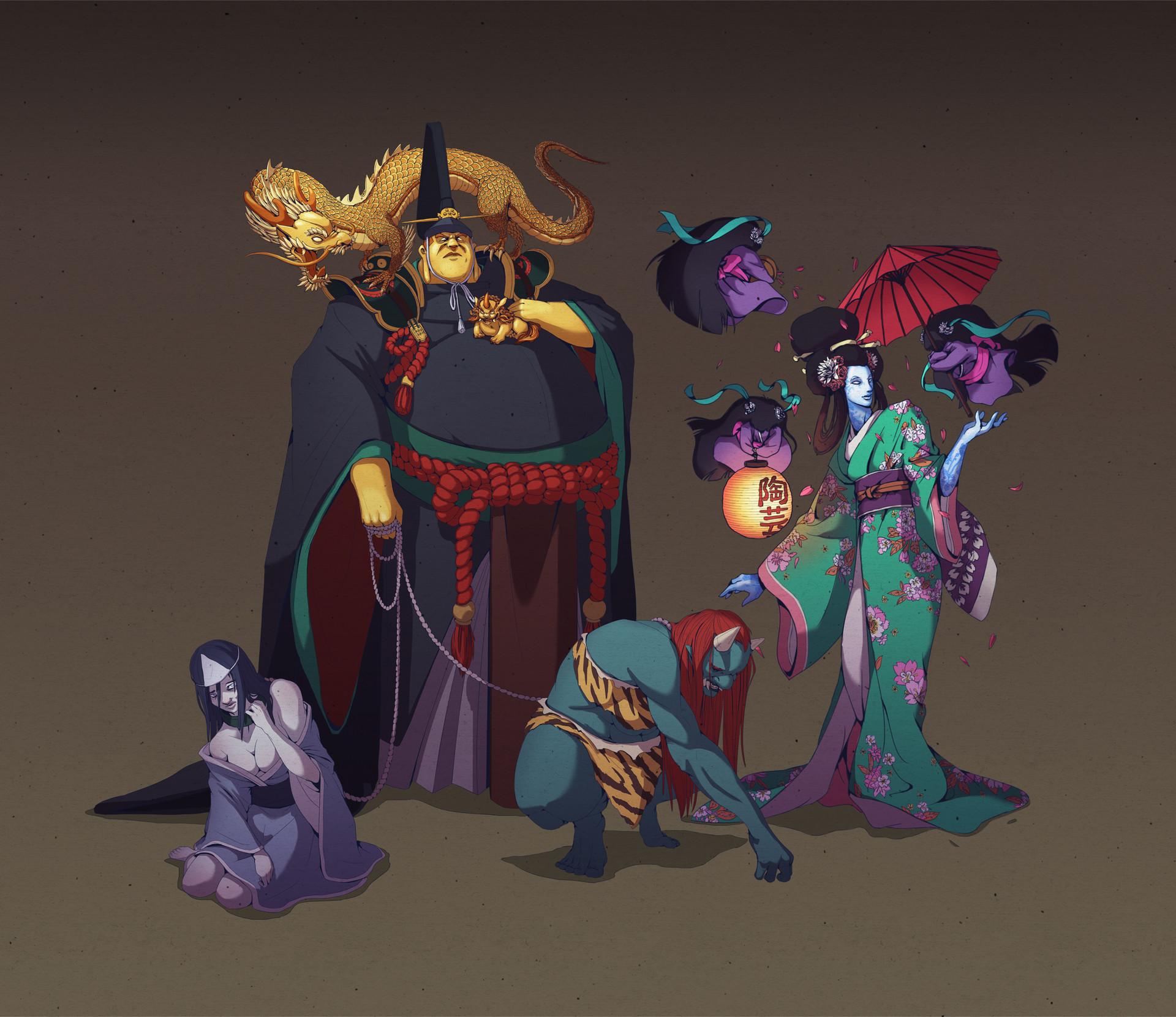 Nicolas tham emperor geisha
