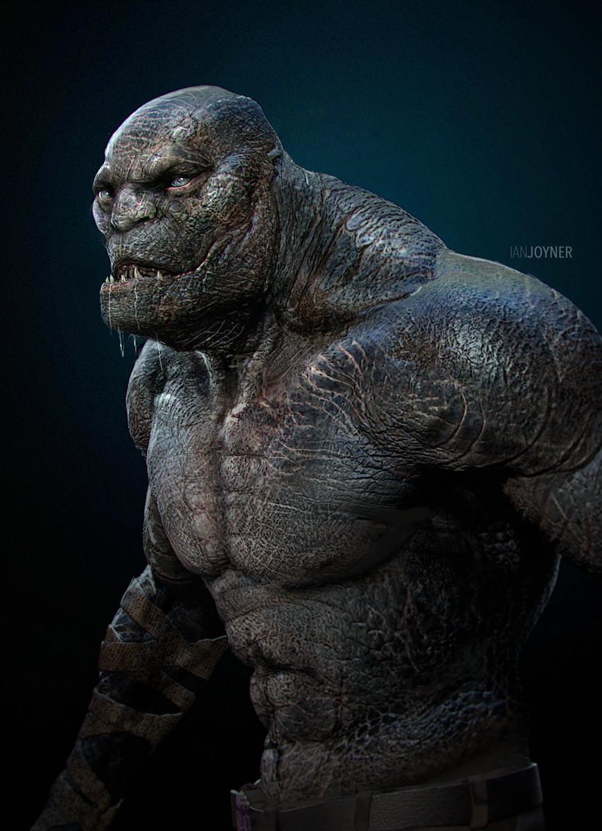 Ian joyner croc 001 mutant ij