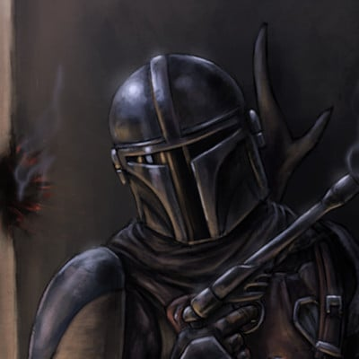 Christian hadfield the mandalorian fan art by christian hadfield 2018
