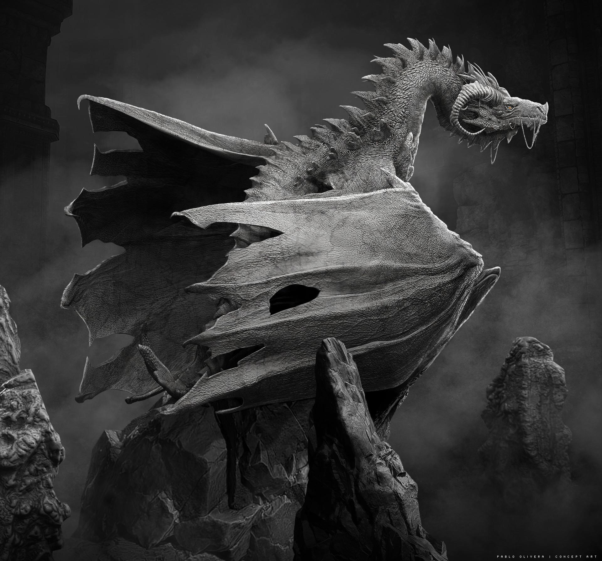 Pablo olivera dragones wacom zbrush 07 b