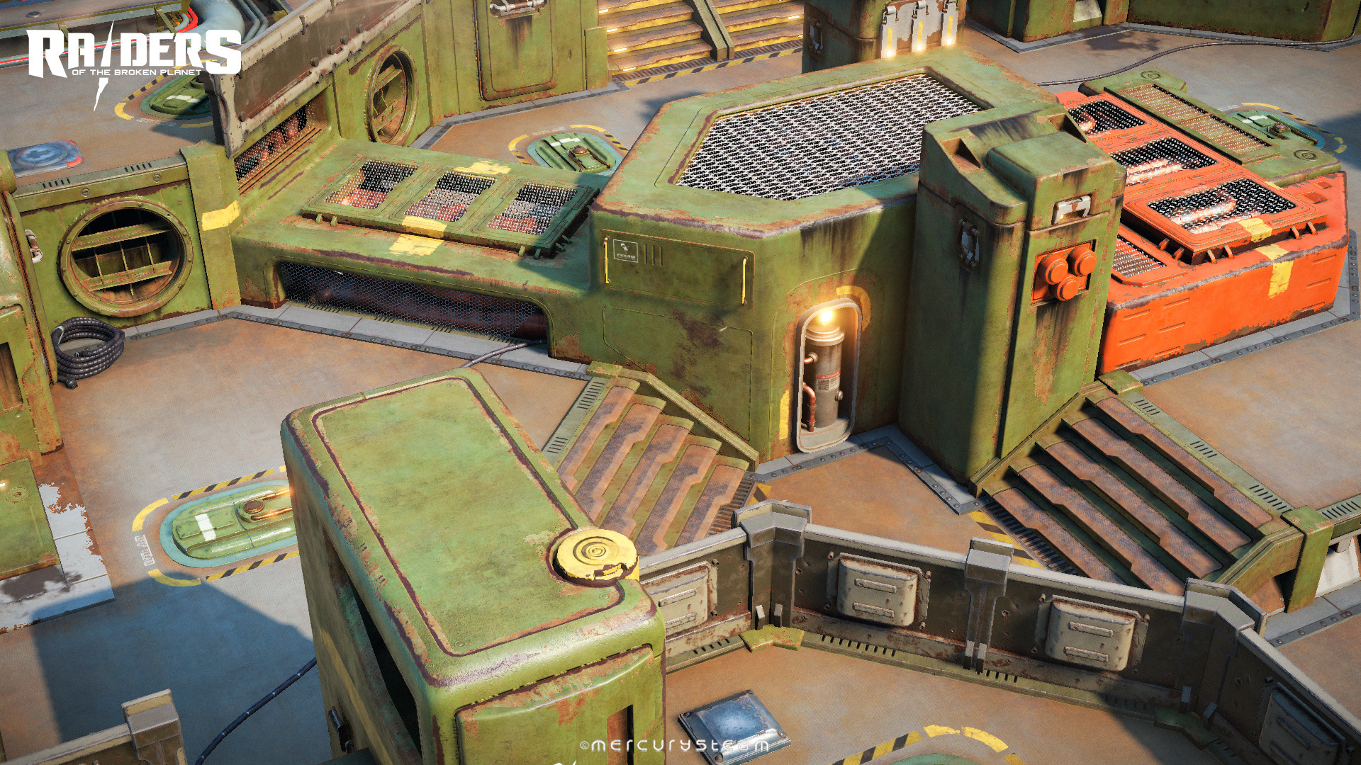 """Gameplay area of the """"Hades Transport """" - The Destroyer of Worlds mission"""