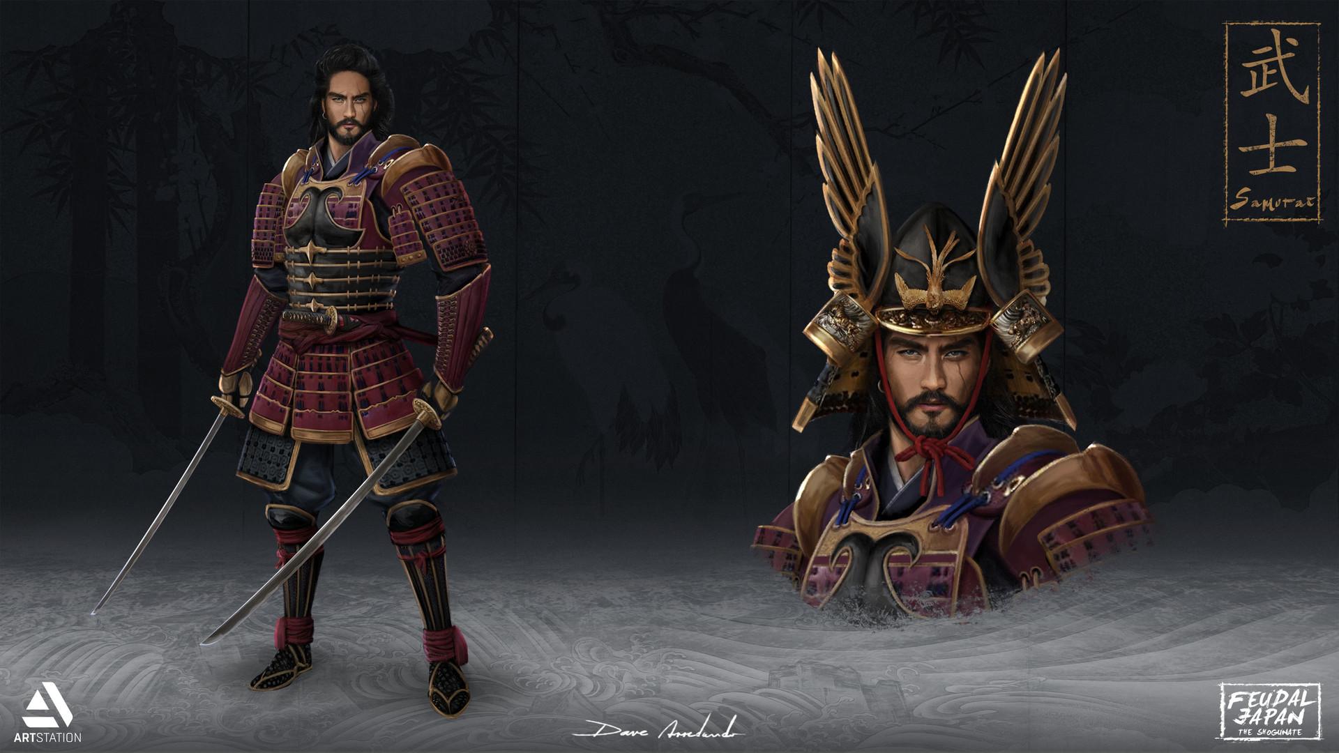 Dave arredondo samurai hd2