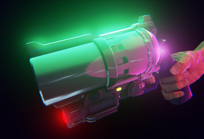 Gun handed