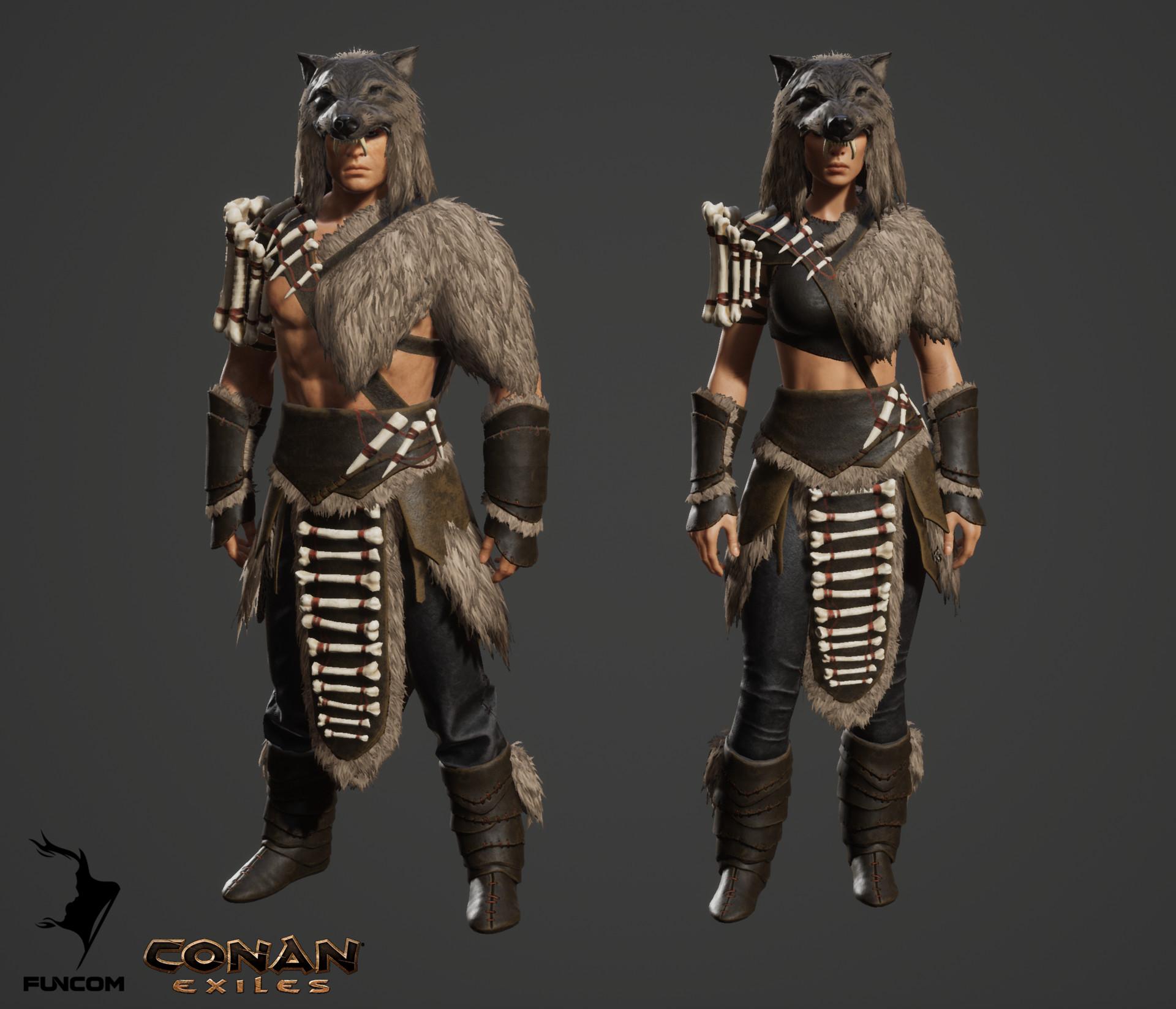 Conan exiles pict armor