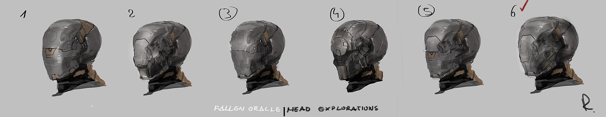 head exploration