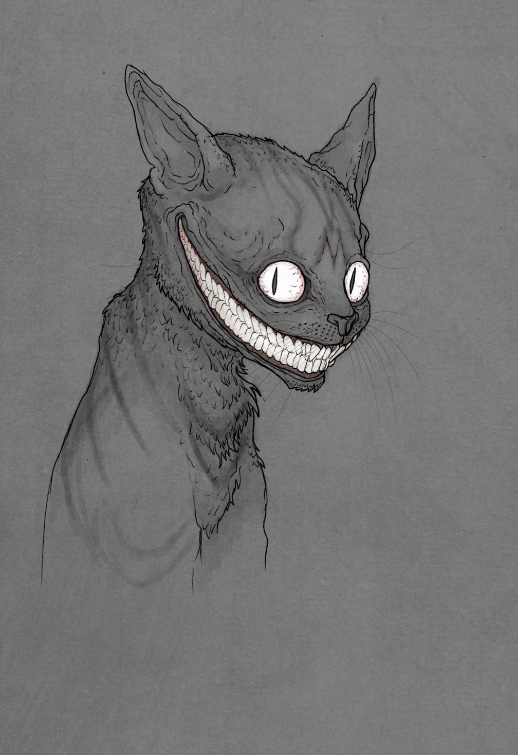Artstation Grinning Like A Cheshire Cat Tom Kyzivat
