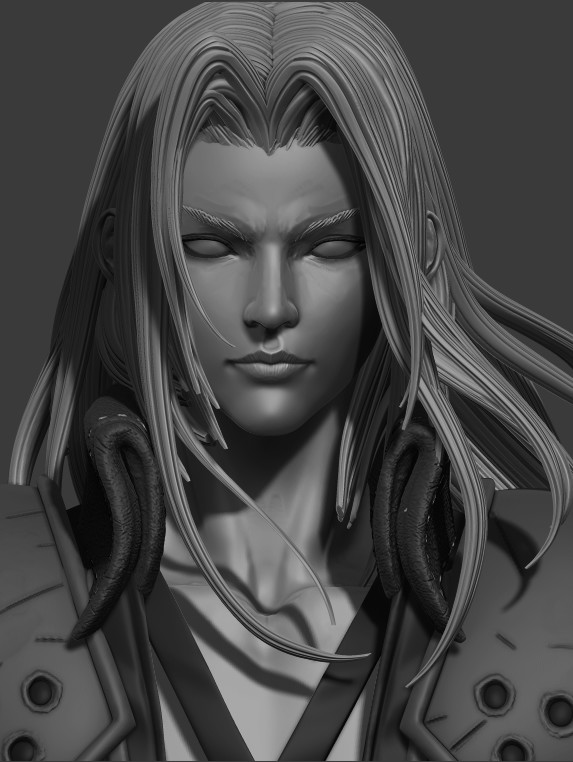 Mars Sephiroth Final Fantasy Vii