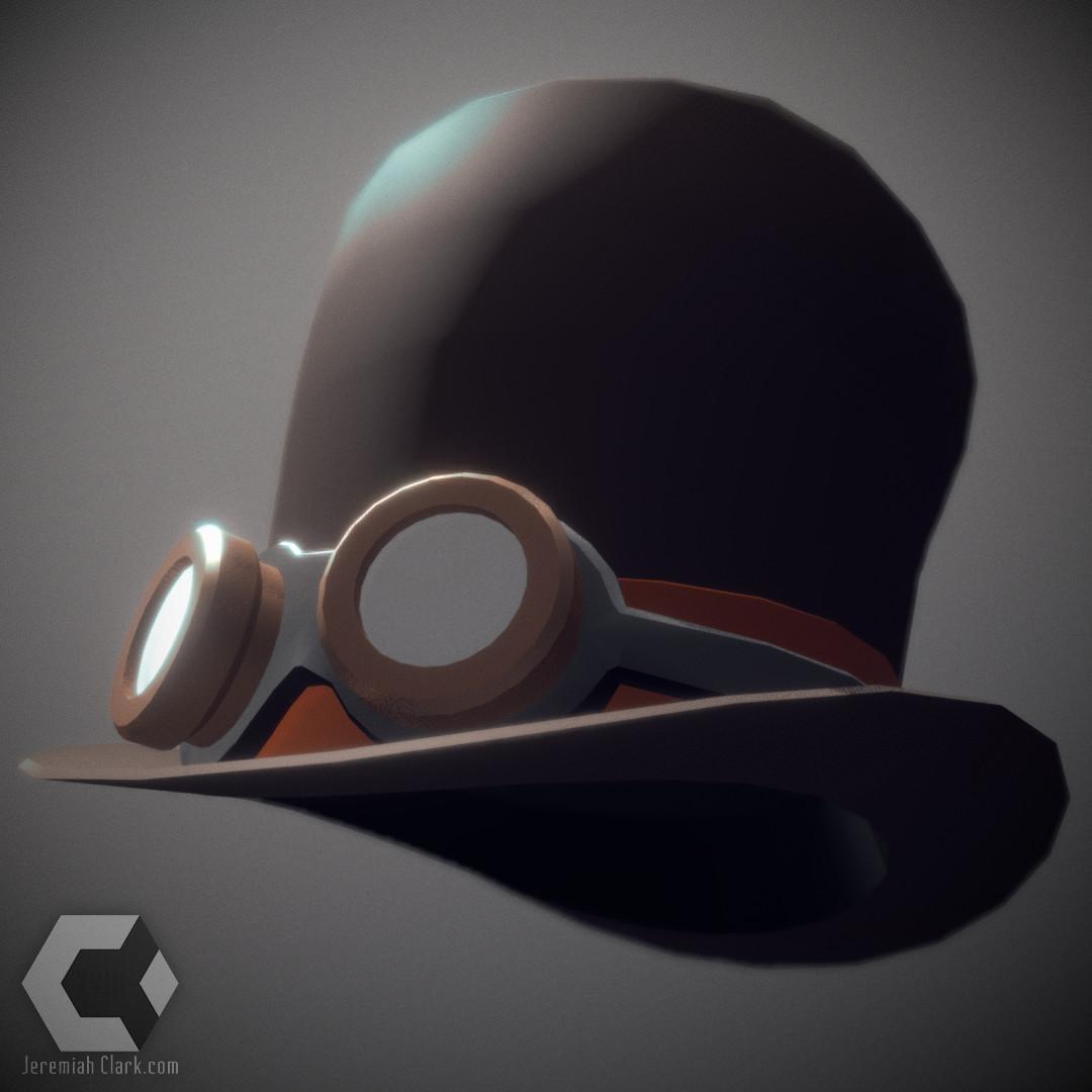 Jeremiah clark steampunk hat