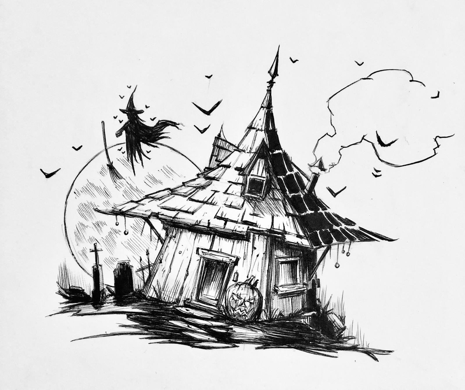 Inktober 2018- illustrations 6-12