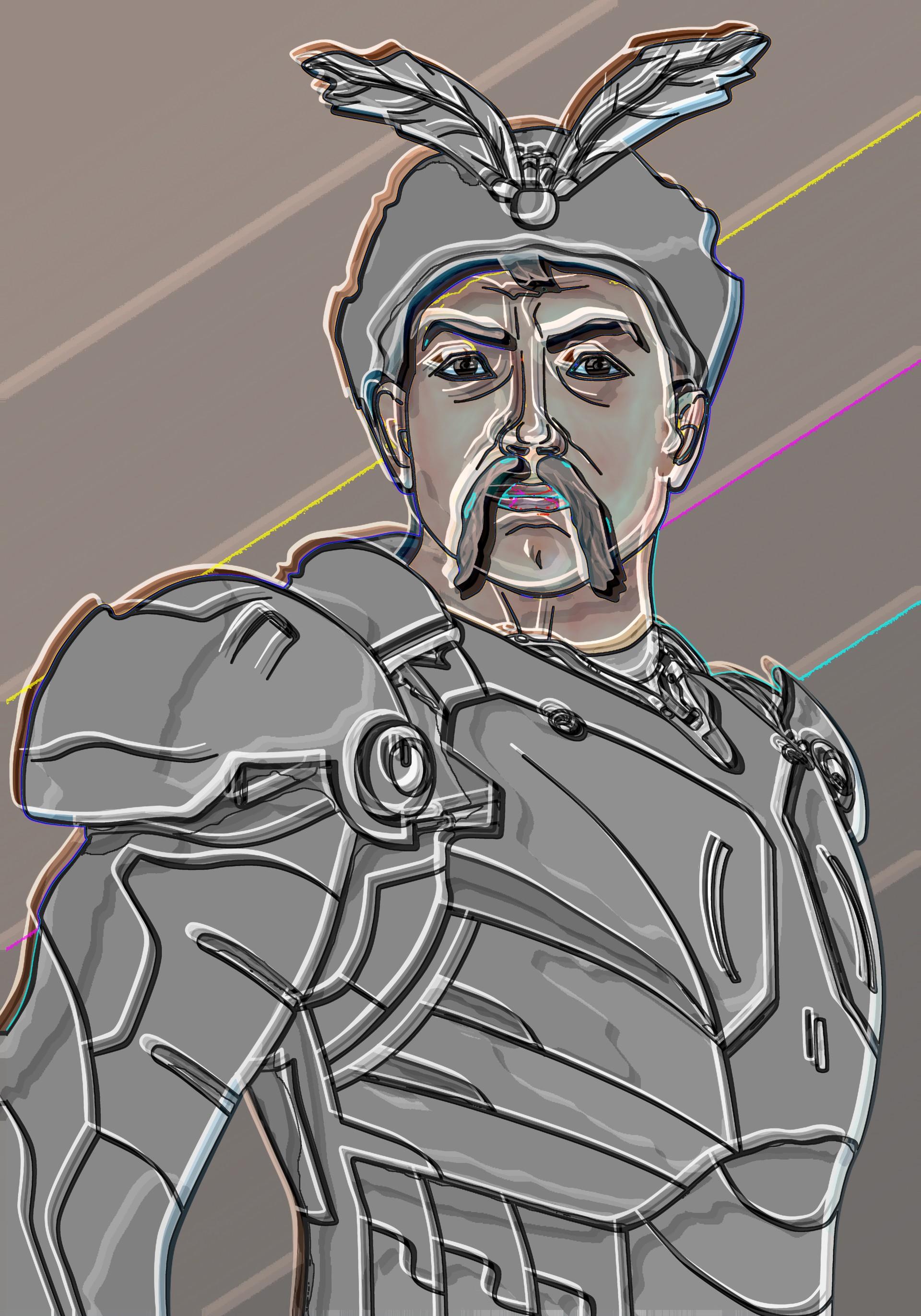 Bohdan Khmelnitsky iron man