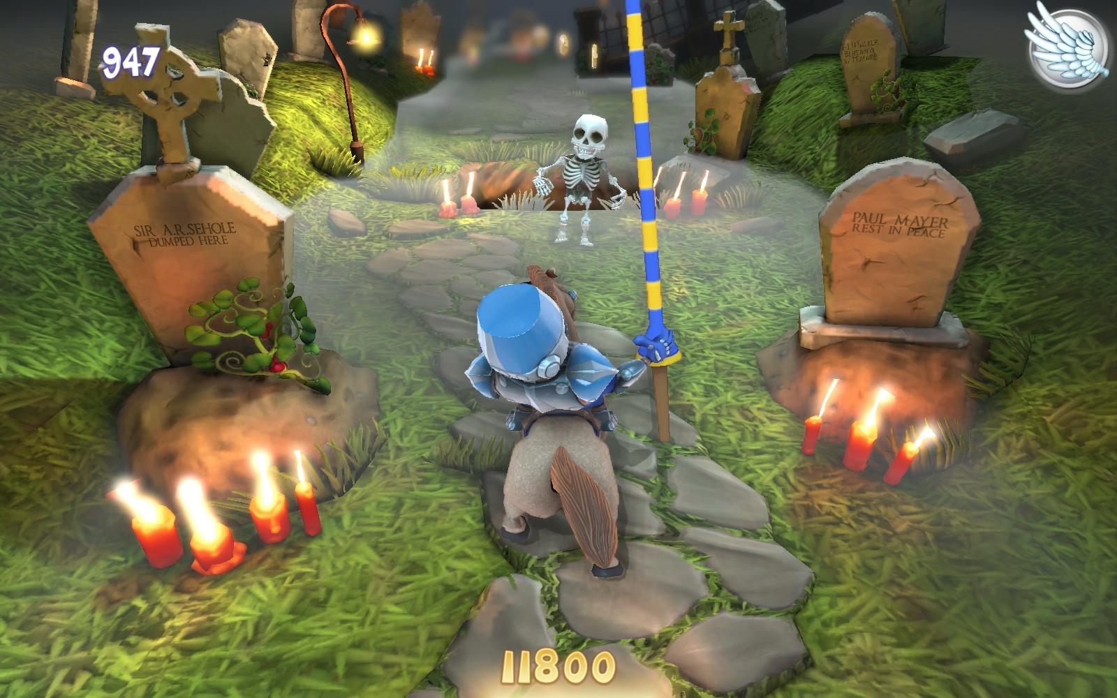 The Graveyard theme