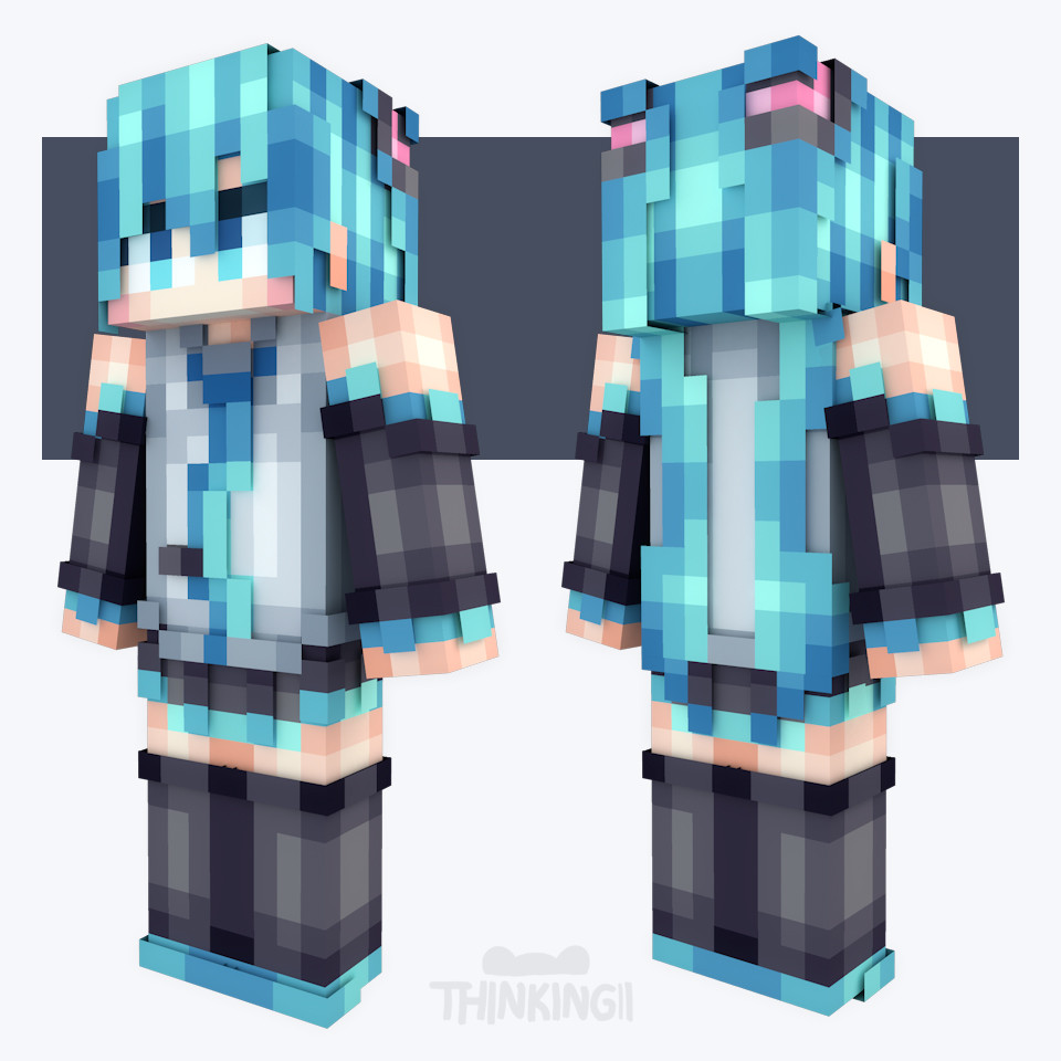 Supawit Oat - [Minecraft Skin Collection ] Anime
