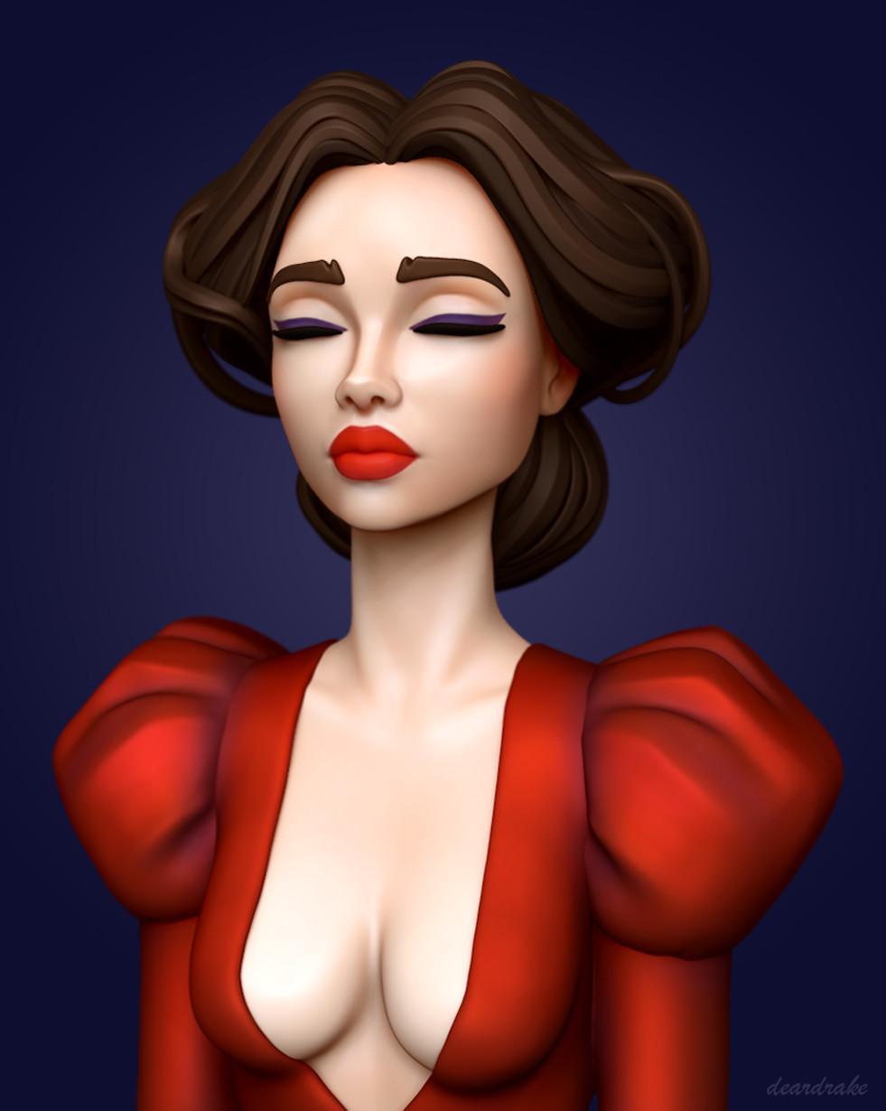 Zuzana bubenova redgirl main2